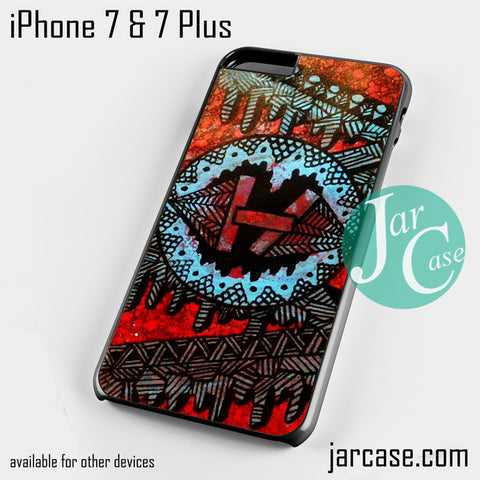 21 Pilots with art logo Phone case for iPhone 7 and 7 Plus - JARCASE