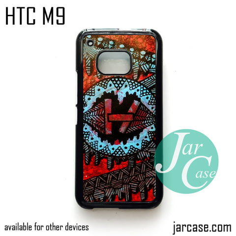 21 Pilots with art logo  Phone Case for HTC One M9 case and other HTC Devices
