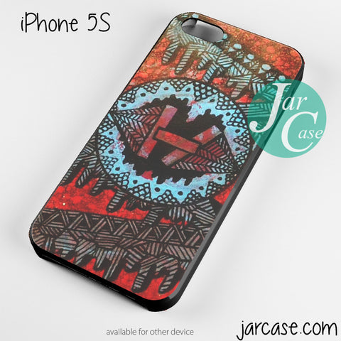 21 Pilots with art logo Phone case for iPhone 4/4s/5/5c/5s/6/6 plus - JARCASE