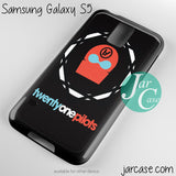 21 Pilots Band Logo Phone case for samsung galaxy S3/S4/S5 - JARCASE