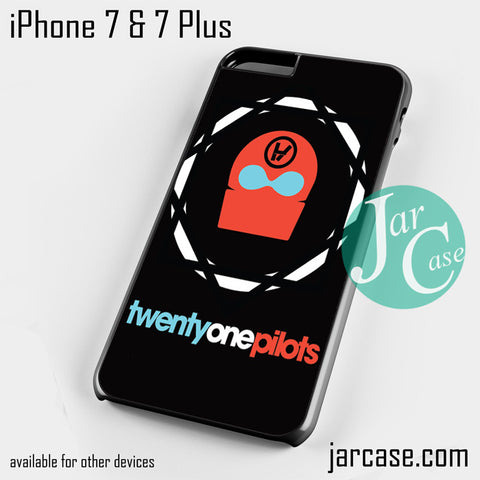 21 pilots band logo Phone case for iPhone 7 and 7 Plus - JARCASE