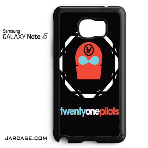 21 Pilots Band Logo Phone case for samsung galaxy note 5 and another devices - JARCASE