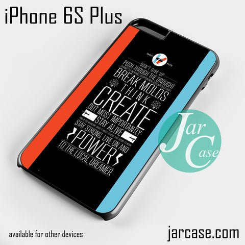 21 pilots band quotes Phone case for iPhone 6S Plus and other iPhone devices - JARCASE