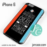 21 Pilots Band Quotes Phone case for iPhone 6 and other iPhone devices - JARCASE