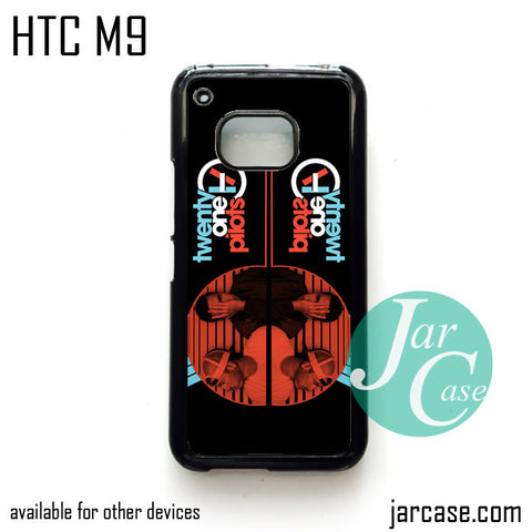 21 pilots band  Phone Case for HTC One M9 case and other HTC Devices