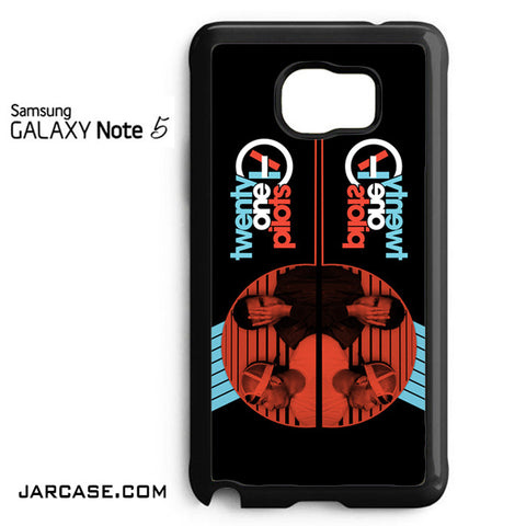 21 Pilots Band Phone case for samsung galaxy note 5 and another devices - JARCASE