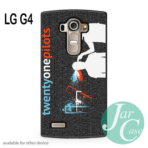 21 pilots lyrics - LG case - LG G4 - JARCASE
