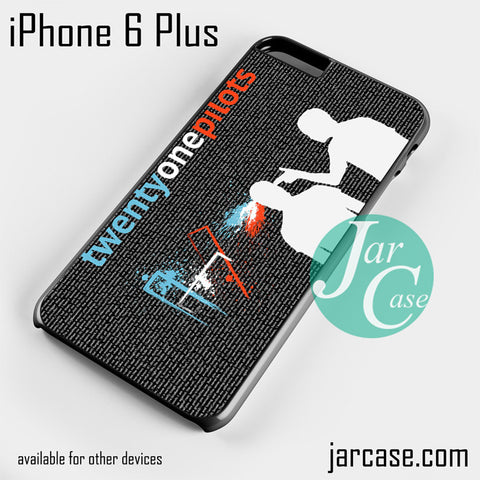 21 pilots lyrics  Phone case for iPhone 6 Plus and other iPhone devices