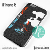 21 Pilots Lyrics Phone case for iPhone 6 and other iPhone devices - JARCASE