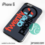 21 Pilots Phone case for iPhone 6 and other iPhone devices - JARCASE