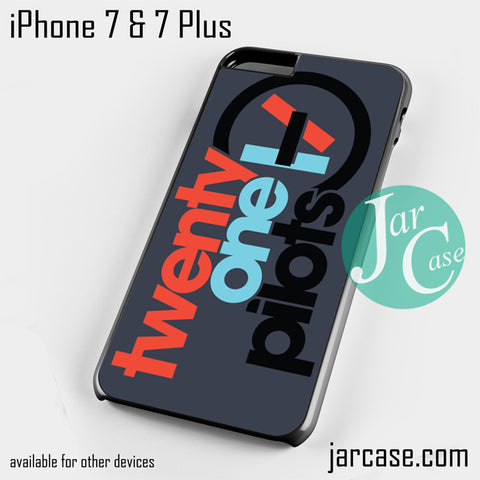 21 pilots Phone case for iPhone 7 and 7 Plus - JARCASE