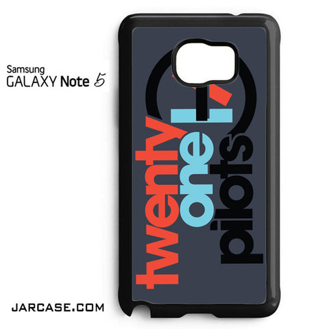 21 Pilots Phone case for samsung galaxy note 5 and another devices - JARCASE