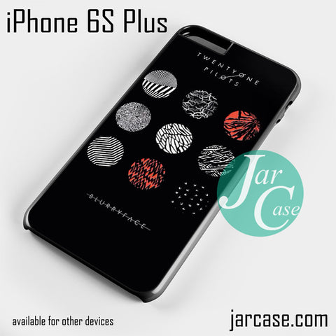 21 Pilots Blurryface  Phone case for iPhone 6S Plus and other iPhone devices - JARCASE