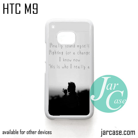 30 Seconds To Mars Found My Self  Phone Case for HTC One M9 case and other HTC Devices