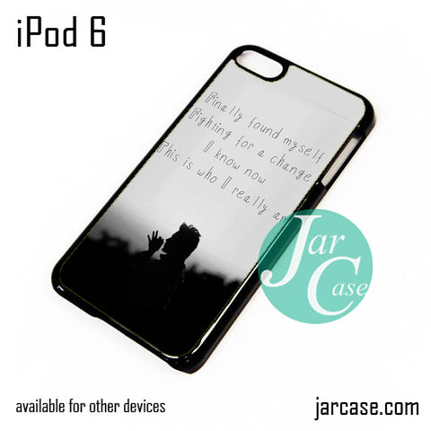 30 Seconds To Mars Found My Self iPod Case For iPod 5 and iPod 6