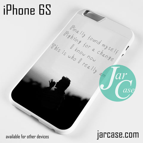 30 Seconds To Mars Found My Self Phone case for iPhone 6/6S/6 Plus/6S plus - JARCASE