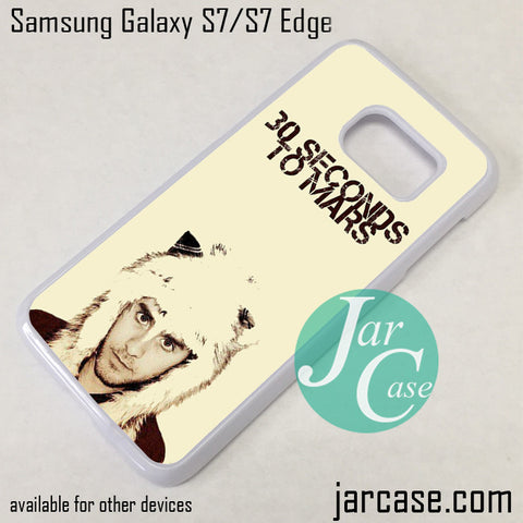 30 Seconds To Mars Jared Letto Phone Case for Samsung Galaxy S7 & S7 Edge - JARCASE