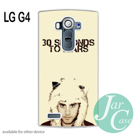 30 Seconds to Mars Jared Letto - LG case - LG G4 - JARCASE