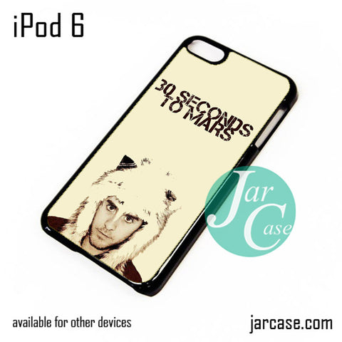 30 Seconds to Mars Jared Letto iPod Case For iPod 5 and iPod 6