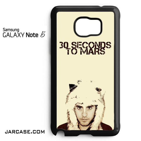 30 Seconds To Mars Jared Letto Phone case for samsung galaxy note 5 and another devices - JARCASE