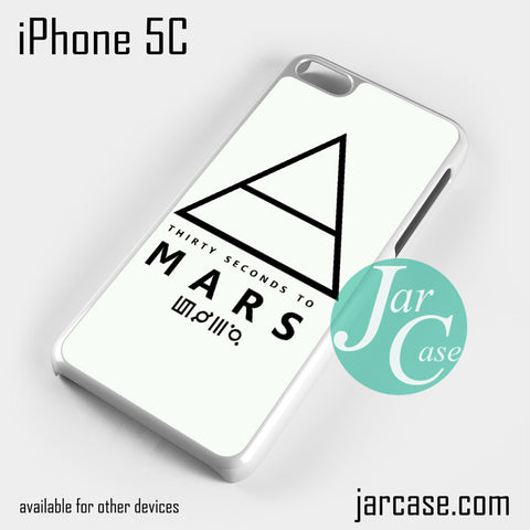 30 Seconds to Mars Logo 1 Phone case for iPhone 5C and other iPhone devices
