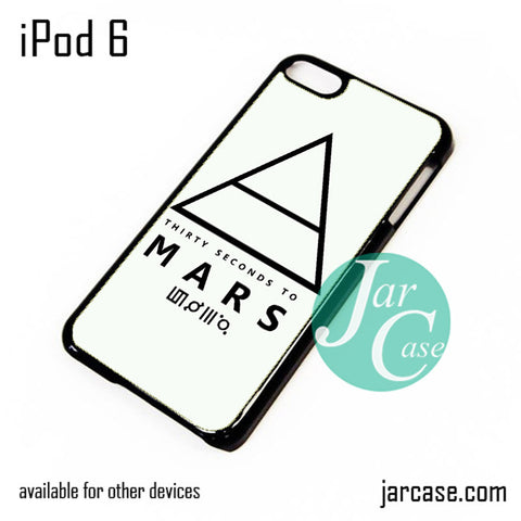 30 Seconds to Mars Logo 1 iPod Case For iPod 5 and iPod 6