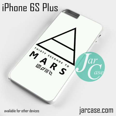 30 Seconds to Mars Logo 1 Phone case for iPhone 6S Plus and other iPhone devices