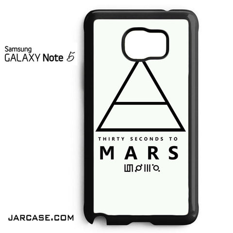 30 Seconds To Mars Logo 1 Phone case for samsung galaxy note 5 and another devices - JARCASE