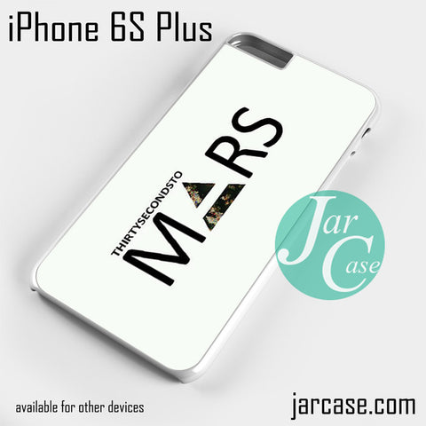 30 Seconds to Mars Logo 2 Phone case for iPhone 6S Plus and other iPhone devices
