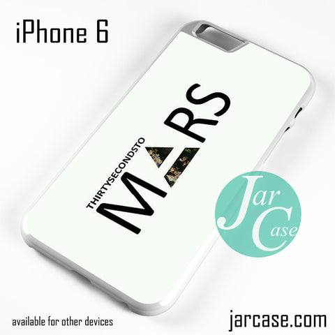 30 Seconds To Mars Logo 2 Phone case for iPhone 6 and other iPhone devices - JARCASE