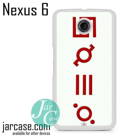 30 Seconds To Mars Logo 3 Phone case for Nexus 4/5/6 - JARCASE