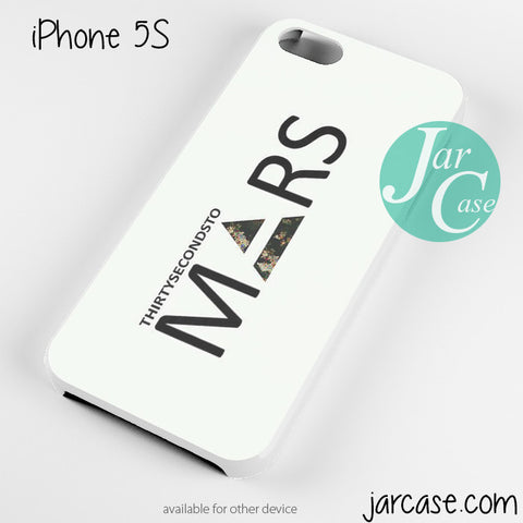 30 Seconds to Mars Logo 2 Phone case for iPhone 4/4s/5/5c/5s/6/6 plus - JARCASE
