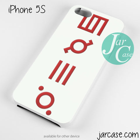 30 Seconds to Mars Logo 3 Phone case for iPhone 4/4s/5/5c/5s/6/6 plus - JARCASE