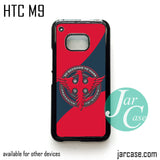 3 seconds to mars logo  Phone Case for HTC One M9 case and other HTC Devices
