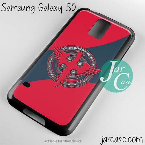 30 seconds to mars logo Phone case for samsung galaxy S3/S4/S5 - JARCASE