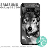Angry wolf Phone Case for Samsung Galaxy S8 & S8 Plus - JARCASE