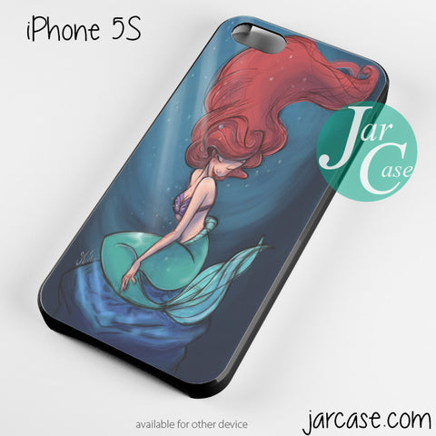 Ariel the little mermaid Phone case for iPhone 4/4s/5/5c/5s/6/6 plus