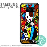 Art Britto 8 Phone Case for Samsung Galaxy S8 & S8 Plus - JARCASE