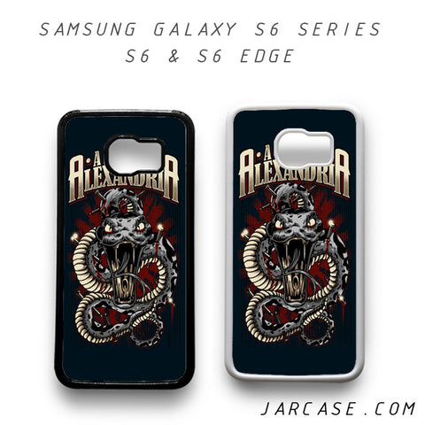 Asking Alexandria Phone case for samsung galaxy S6 & S6 EDGE