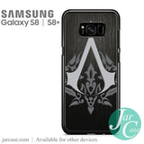 Assassin's Creed Logo With Skin Pattern Phone Case for Samsung Galaxy S8 & S8 Plus - JARCASE