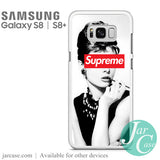Audrey Hepburn Supreme Phone Case for Samsung Galaxy S8 & S8 Plus - JARCASE