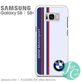 BMW Motorsport Logo Phone Case for Samsung Galaxy S8 & S8 Plus - JARCASE