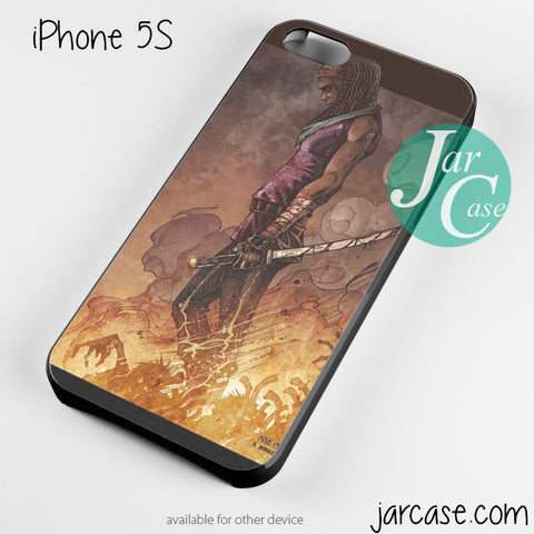 Brave michonne Phone case for iPhone 4/4s/5/5c/5s/6/6 plus