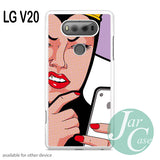 Evil Queen Uses iPhone - LG Phone Case - LG V20 Case - JARCASE