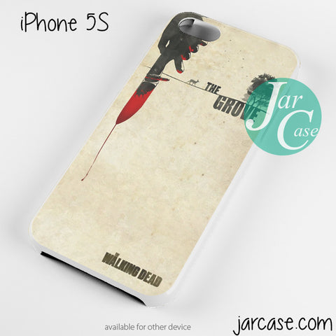 The Walking dead paper art Phone case for iPhone 4/4s/5/5c/5s/6/6 plus