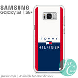 Tommy Hilfiger Red Edge Phone Case for Samsung Galaxy S8 & S8 Plus - JARCASE