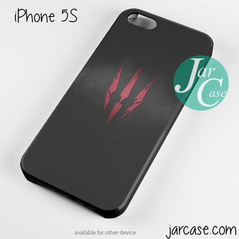 Witcher 3 Wild Hunt Logo Phone case for iPhone 4/4s/5/5c/5s/6/6 plus