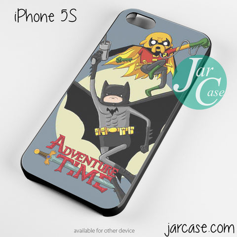 adventure time batman robin Phone case for iPhone 4/4s/5/5c/5s/6/6 plus