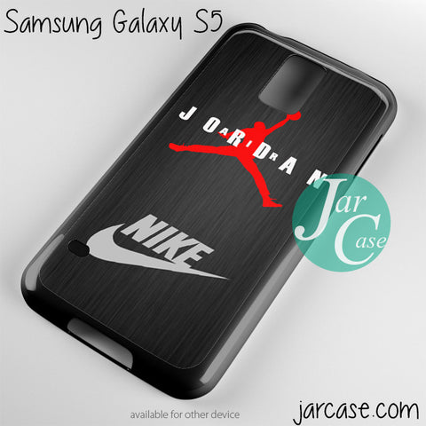 air jordan glow nike Phone case for samsung galaxy S3/S4/S5