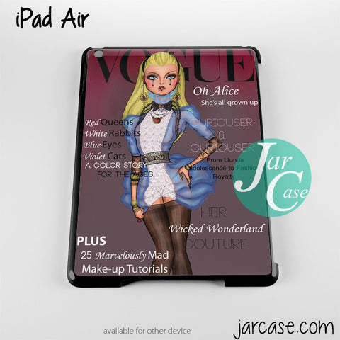alice disney vogue magazine Phone case for iPad 2/3/4, iPad air, iPad mini